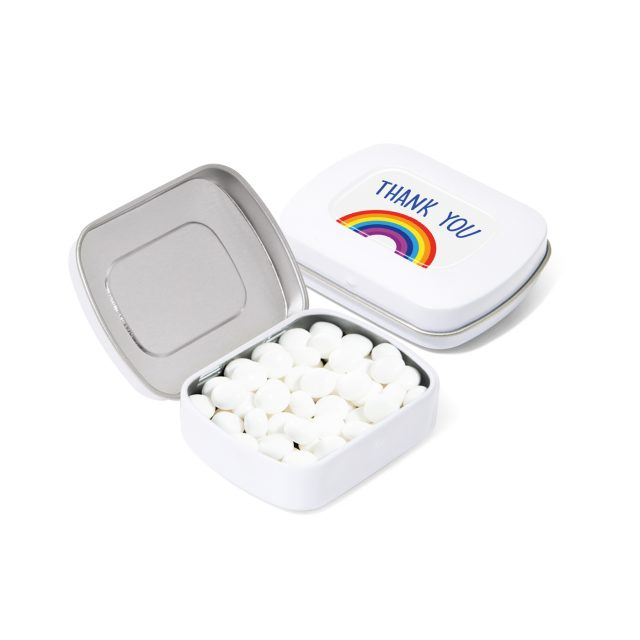 Pocket Tin – Rainbow Mints