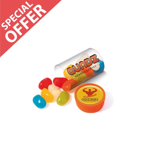 Special Offer – Clear Tube Mini – Jolly Beans