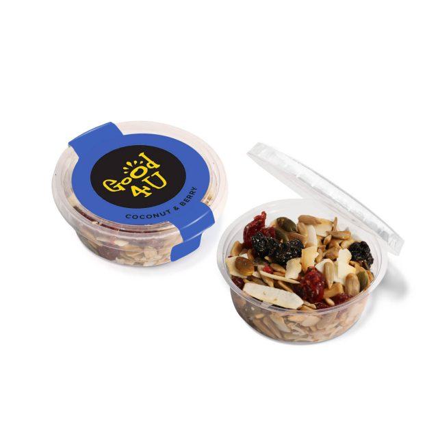 Eco Range – Eco Midi Pot – Coconut & Berry Snacks
