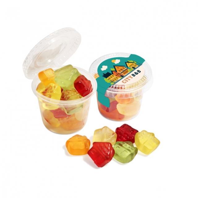 Eco Range – Eco Mini Pot – Fruit Gum Mix