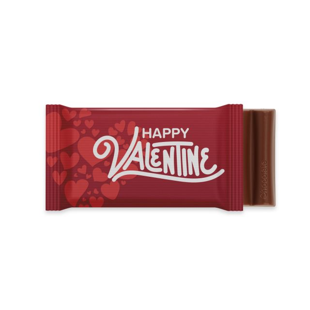 Valentines – 6 Baton – Chocolate Bar