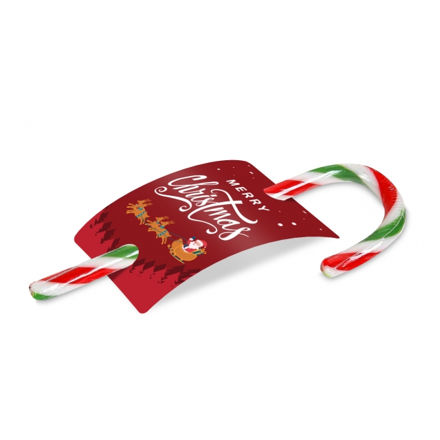 Christmas – Peppermint Candy Cane – Info Card