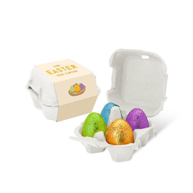 Easter – Egg Box – Foiled Eggs