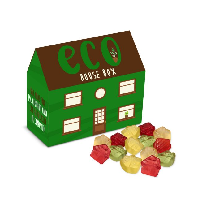 Eco Range – Eco House Box – Kalfany Fruit Gums – COMING SOON