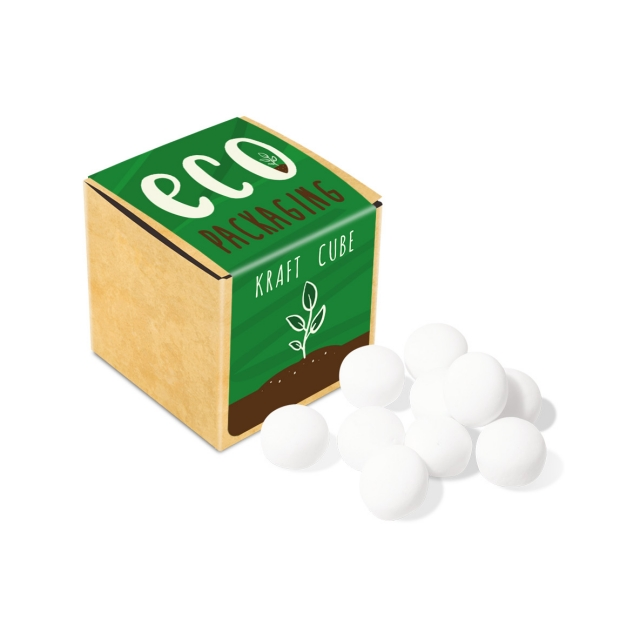 Eco Range – Eco Kraft Cube – Mint Imperials