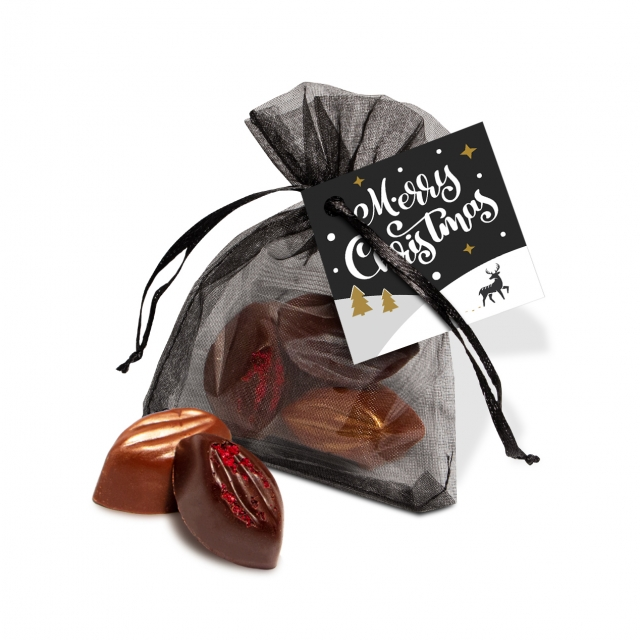 Organza Bag – Cocoa Bean Truffles