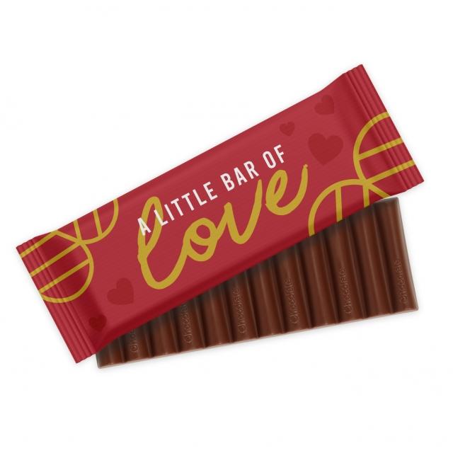 Valentines – 12 Baton – Chocolate Bar