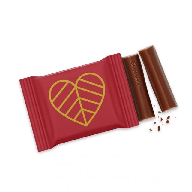 Valentines – 3 Baton – Chocolate Bar