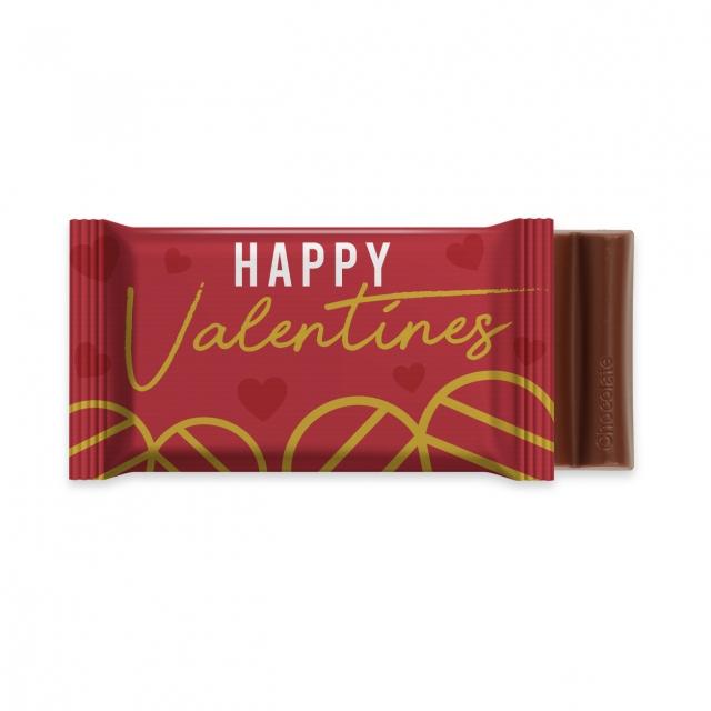 Valentines – 6 Baton – Chocolate Bar