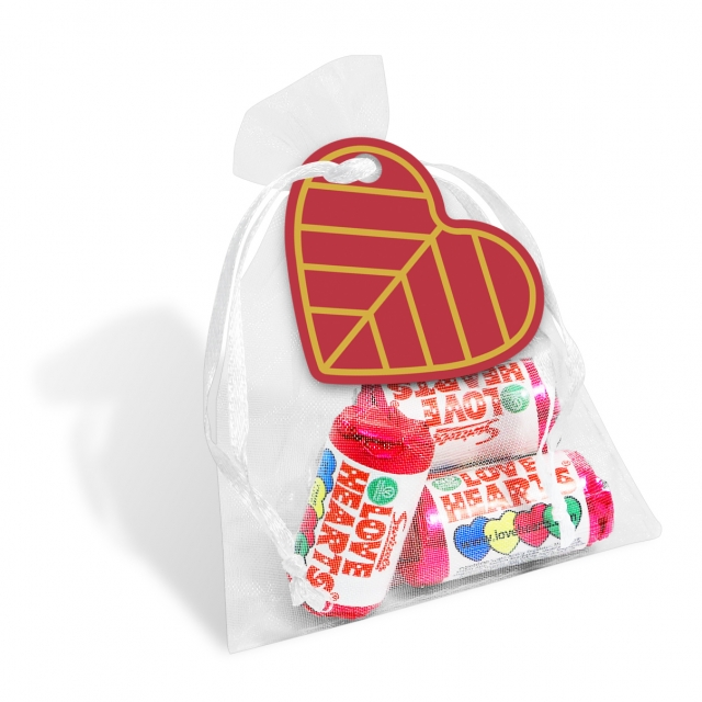 Valentines – Organza Bag – Love Hearts®