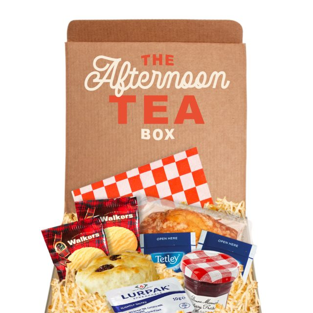 Gift Boxes – Square Gift Box – Afternoon Tea
