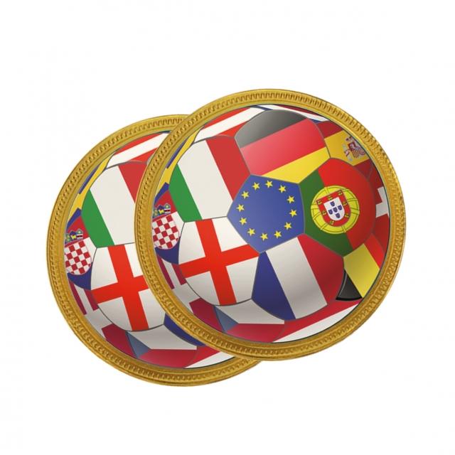 Euro 2021 – Chocolate Medallion – 100mm