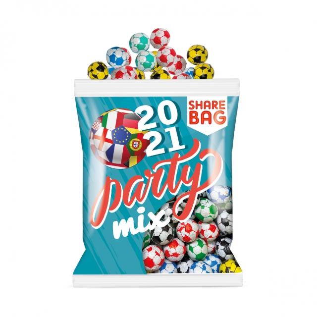 Euro 2021 – Flow Bag – Chocolate Footballs – Party Bag